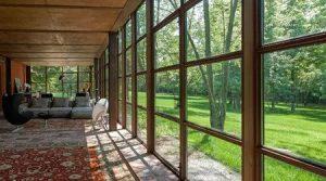 baie vitrée fixe